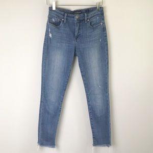 Lucky Brand • Ava Skinny Jean Crop Raw Hem 2/26